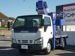 エルフトラック高所作業車 タダノAT−100