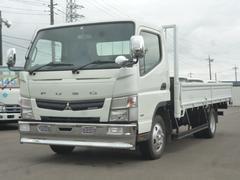 キャンター平ボディ全低床ワイドロング 2トン積載車両装重量4945kg