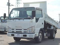 エルフトラックフルフラットローダンプ 3t積載 車両総重量5,965k