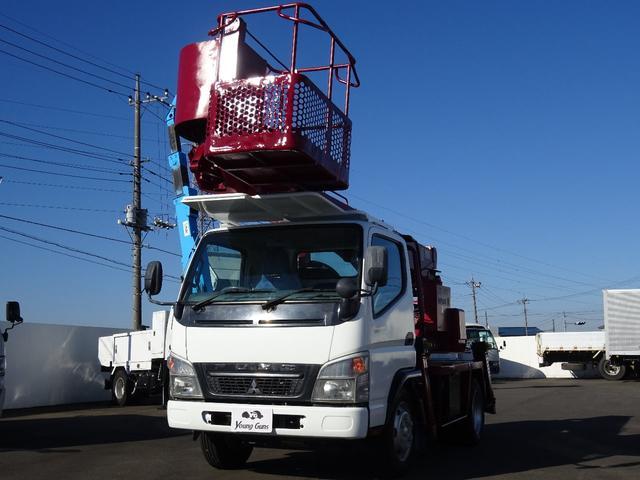 三菱ふそう 高所作業車3段 エスマックST-125