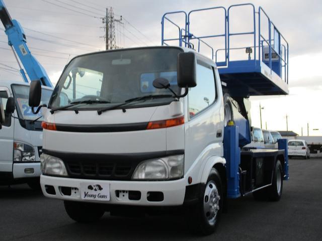 日野 デュトロ ロング 高所作業車 タダノAT-120SR(12m)