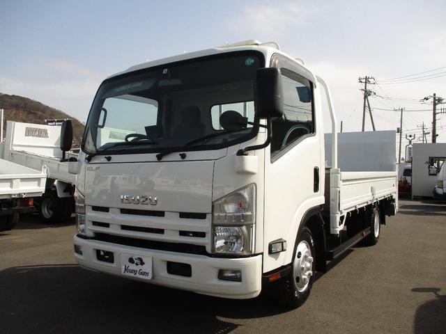 いすゞ エルフトラック  平ボディ ワイドロング PG付 最大積載量2000kg 車両総重量5125kg