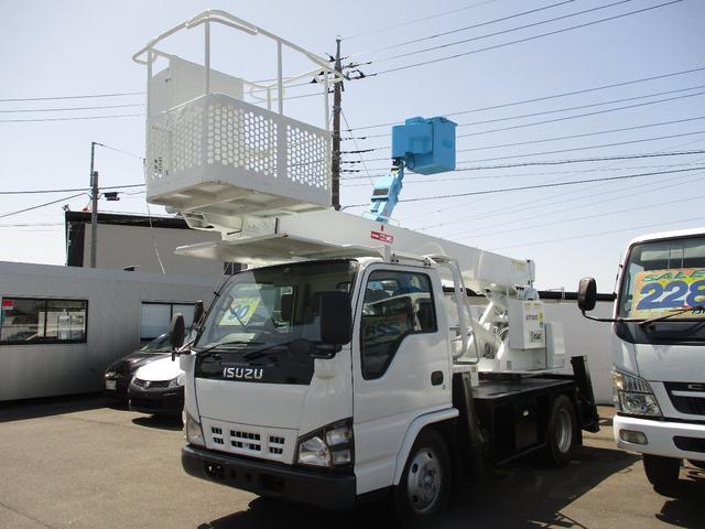 いすゞ エルフトラック  エスマックST-125 12メートル高所作業車