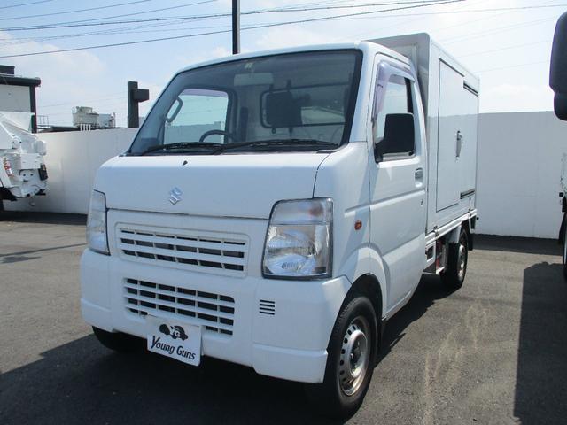 スズキ キャリイトラック  冷凍冷蔵車 ー5℃〜20℃設定  最大積載量350kg