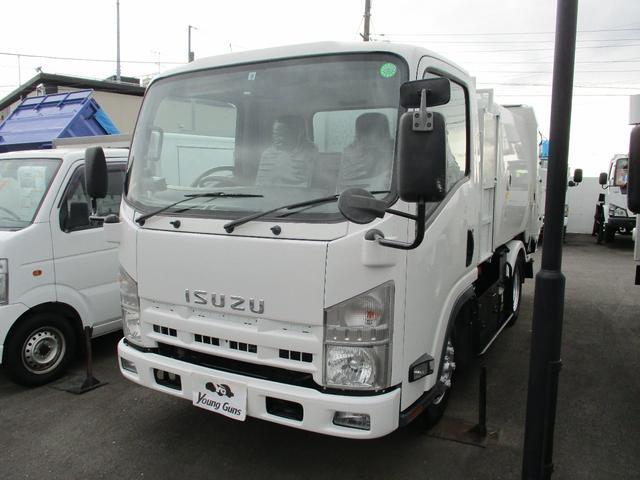 いすゞ パッカー車 極東製巻き込みダンプ式 GB38-820D-S バックカメラ