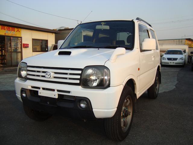 マツダ AZオフロード XC XC(4名)4WD。RAYS16インチアルミ