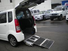 ワゴンR車椅子用スローパー 福祉