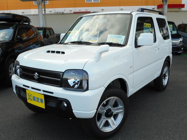 スズキ XC 4WD ターボ AT CDルーフレール届出済未使用車