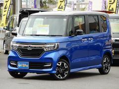 N BOXカスタムG・EXターボホンダセンシング 4WD 8型ナビ ツートン