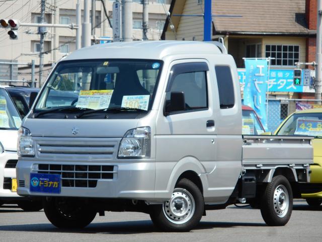スズキ L 5MT 4WD 試乗車 前後誤発進抑制機能 ナビTV