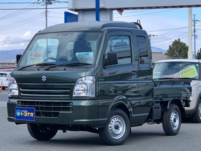 スーパーキャリイ(スズキ) L 5MT 4WD AC PS 被害軽減ブレーキDCBS 誤発進抑制装置前後付 中古車画像