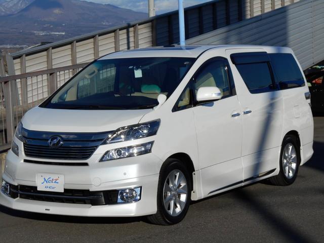 トヨタ 2.4V SDナビ 後席モニター 両側電動Sドア HID