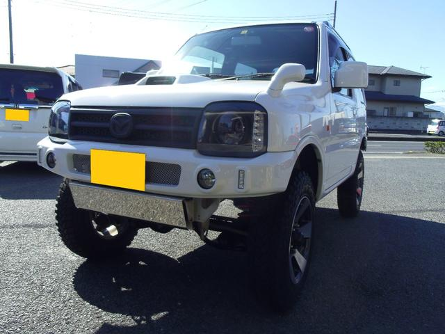 マツダ XC XC4WD・キーレス・ターボ・5速MT車