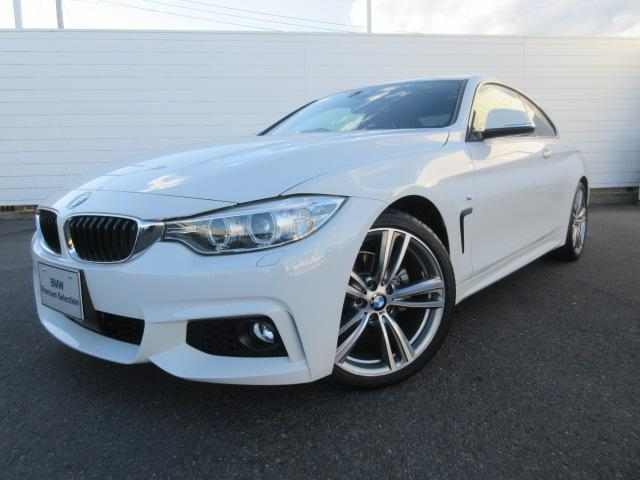 BMW 4シリーズ 420iクーペ Mスポーツ ACC 禁煙 オプ...