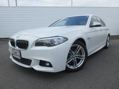 BMW523i Mスポーツ サンルーフ ブラックレザー ACC