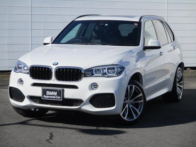 BMW X5 xDrive 35d Mスポーツ ワンオーナー 禁煙車 電動パノラマサンルーフ アクティブクルーズコントロール フロントリアシートヒーター ブラックレザーシート LEDヘッドライト 純正20インチAW