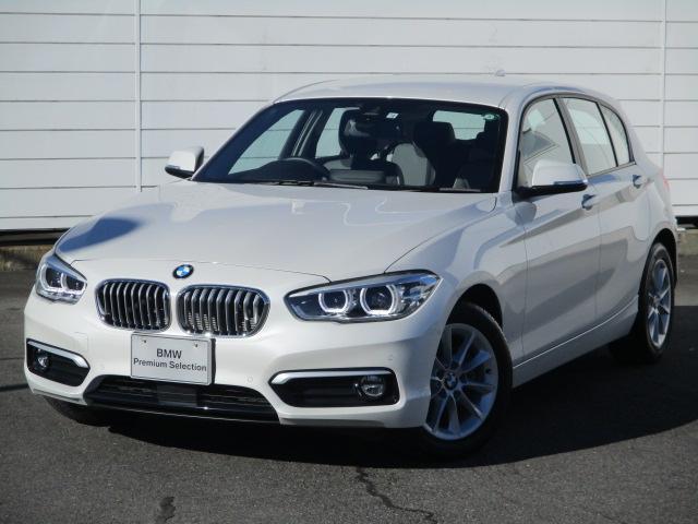BMW 118d スタイル 禁煙車 純正ナビ バックカメラ アクティブクルーズコントロール シートヒーター コンフォートアクセス LEDヘッドライト Blue tooth