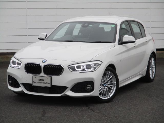 BMW 118i Mスポーツ ワンオーナー 禁煙車 純正ナビ ETC バックカメラ シートヒーター アクティブクルーズコントロール コンフォートアクセス LEDヘッドライト 純正17インチAW