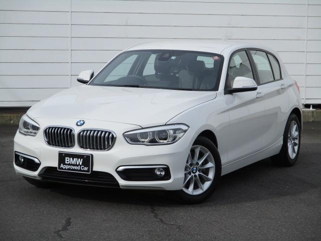 BMW 118i スタイル ワンオーナー 禁煙車 バックカメラ リアPDC Musicコレクション クルーズコントロール Bluetooth ハーフレザーシート LEDヘッドライト 純正16インチAW