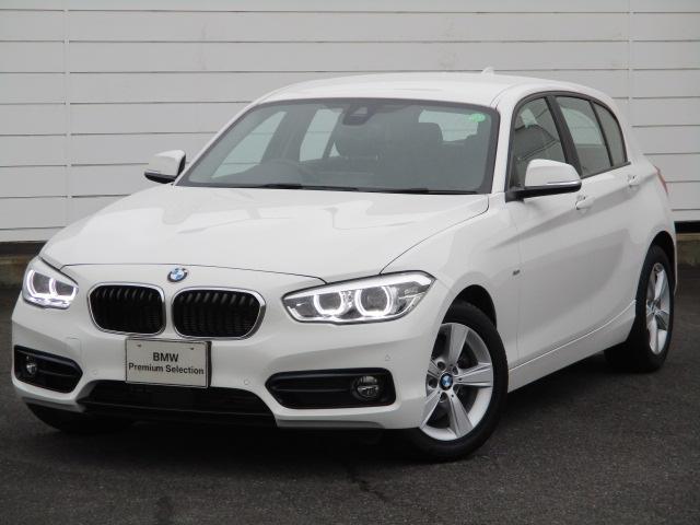 BMW 118i スポーツ ワンオーナー 禁煙車 純正HDDナビ バックカメラ シートヒーター アクティブクルーズコントロール コンフォートアクセス ETC純正16インチAW