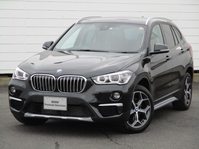BMW X1 xDrive 18d xライン 禁煙車 アクティブクルーズコントロール ヘッドアップディスプレイ Bluetooth シートヒーター オートリアゲート LEDヘッドライト コンフォートアクセス 純正18インチAW