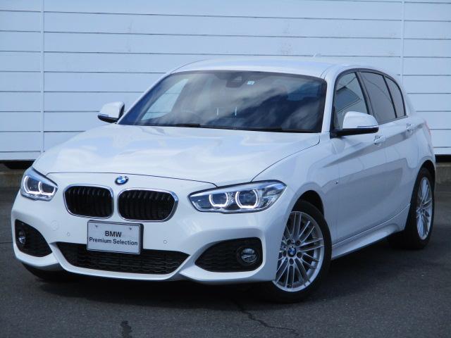 BMW 118d Mスポーツ クルーズコントロール シートヒーター ETC 禁煙車 バックカメラ インテリジェントセーフティ Bluetooth LEDヘッドライト コンフォートアクセス 純正17インチアロイホイール