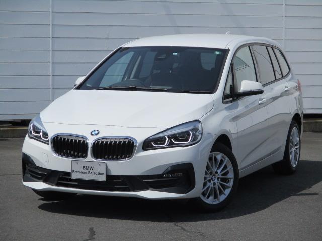 BMW 218dグランツアラー ワンオーナー 禁煙車 純正ナビ バックカメラ PDC CD ETC Bluetooth インテリジェントセーフティ LEDヘッドライト 純正17インチアロイホイール