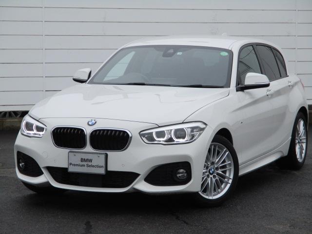 BMW 118d Mスポーツ ワンオーナー 禁煙車 純正ナビ バックカメラ PDC アクティブクルーズコントロール インテリジェントセーフティ ETC Bluetooth 純正17インチアロイホイール