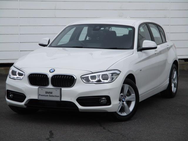 BMW 118d スポーツ 純正ナビ ETC バックカメラ アクティブクルーズコントロール 禁煙車 Bluetooth LEDヘッドライト コンフォートアクセス 純正16インチAW インテリジェントセーフティ