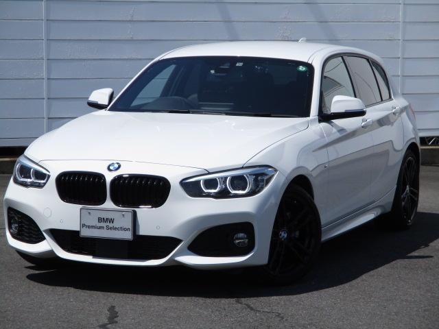 BMW 118d Mスポーツ エディションシャドー ワンオーナー 禁煙車 純正ナビ Musicコレクション バックカメラ PDC ブラックレザーシート シートヒーター アクティブクルーズコントロール アップグレードパッケージ 純正18インチAWETC