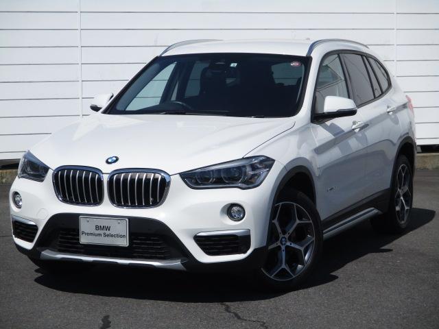 BMW X1 sDrive 18i xライン 純正ナビ ETC バックカメラ 禁煙車 ハーフレザーシート オートリアゲート コンフォートアクセス Buletooth LEDヘッドライト 純正18インチアロイホイール インテリジェントセーフティ