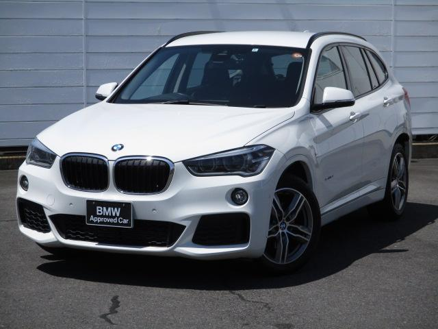BMW X1 sDrive 18i Mスポーツ 純正ナビ バックカメラ インテルジェントセーフティ PDC 禁煙車 Bluetooth ETC スポーツシート LEDヘッドライト
