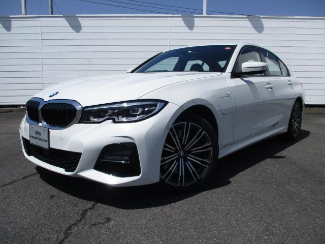BMW 330e Mスポーツ 禁煙車 純正ナビ バックカメラ PDC ブラックレザーシート シートヒーター アクティブクルーズコントロール インテリジェントセーフティ Bluetooth 純正18インチアロイホイール LEDライト