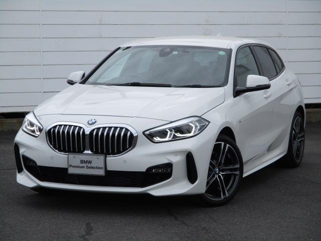 BMW 1シリーズ 118i Mスポーツ ワンオーナー 禁煙車 純正ナビ バックカメラ PDC コンフォートアクセス ETC インテリジェントセーフティ アンビエントライト 純正18インチアロイホイール