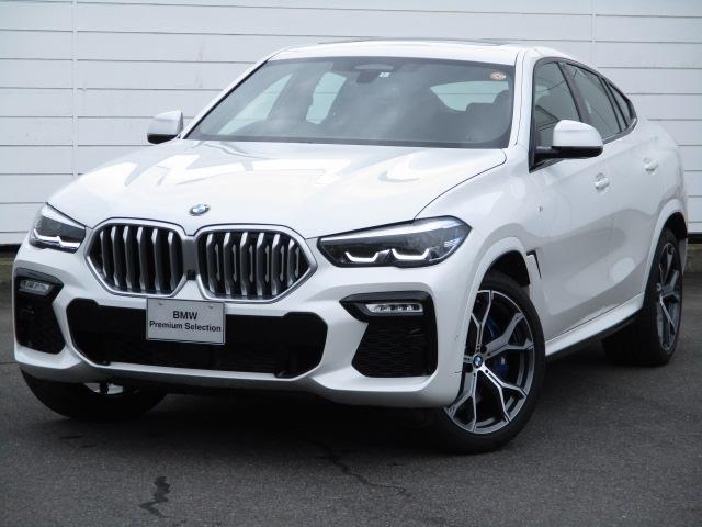 BMW X6 xDrive 35d Mスポーツ ワンオーナー 禁煙車 純正ナビ 地デジ ブラックレザーシート シートヒーター Harman/Kardonサラウンド 電動パノラマサンルーフ LEDヘッドライト オートリアゲート 純正21インチAW