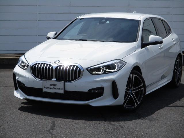 BMW 1シリーズ 118i Mスポーツ 禁煙車 アンビエントライト ハーフレザーシート パワーシート 純正ナビ ETC バックカメラ アクティブクルーズコントロール インテリジェントセーフティ ワイヤレスチャージャー 純正17インチAW
