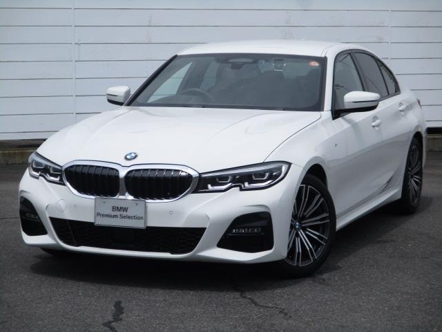 BMW 3シリーズ 320i Mスポーツ ワンオーナー 禁煙車 ハーフレザーシート バックカメラ アクティブクルーズコントロール シートヒーター インテリジェントセーフティ パドルシフト オートトランク ヘッドアップディスプレイ 純正18AW