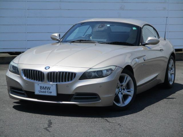 BMW Z4 sDrive35i 禁煙車 純正ナビ 地デジ PDC ベージュレザーシート シートヒーター 電動オープン Musicコレクション 7速DCT電動オープン アルミインテリアトリム 純正17インチアロイホイール