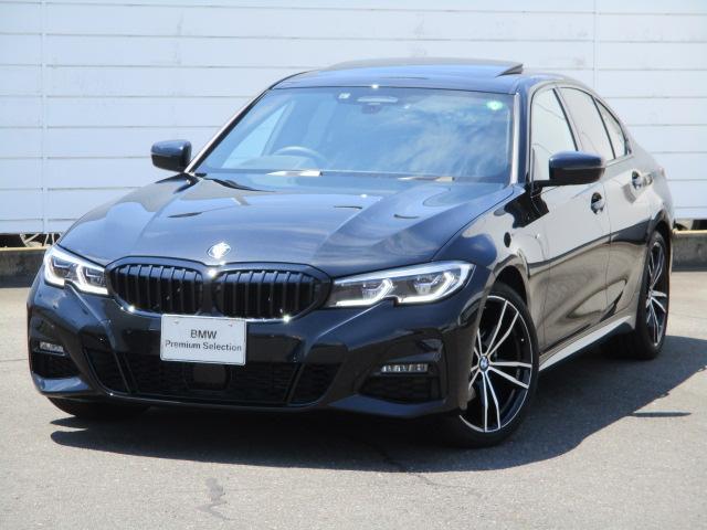 BMW 3シリーズ 320d xDrive Mスポーツ ワンオーナー 禁煙車 harman/Kadon ブラックレザーシート シートヒーター サンルーフ レーザーライト ヘットアップディスレイ オートトランク 純正19インチAW アクティブクルーズ 地デジ
