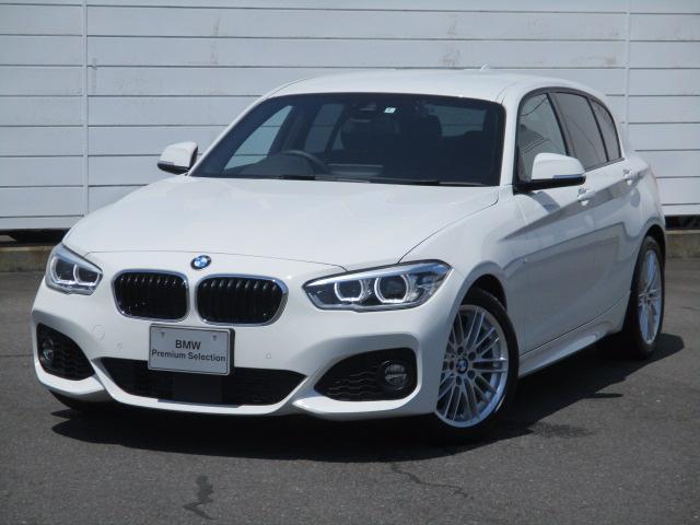 BMW 1シリーズ 118i Mスポーツ ワンオーナー 禁煙車 純正ナビ ETC バックカメラ シートヒーター Bluetooth インテリジェントセーフティ LEDヘッドライト コンフォートアクセス 純正17インチAW