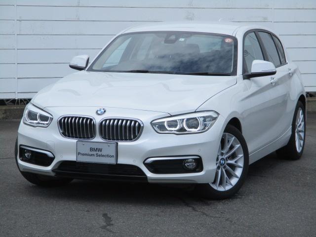 BMW 1シリーズ 118i ファッショニスタ ワンオーナー 禁煙車 アクティブクルーズコントロール ウッドパネル パワーシート バックカメラ レザーシート シートヒーター インテリジェントセーフティ Bluetooth 純正17インチAW ETC