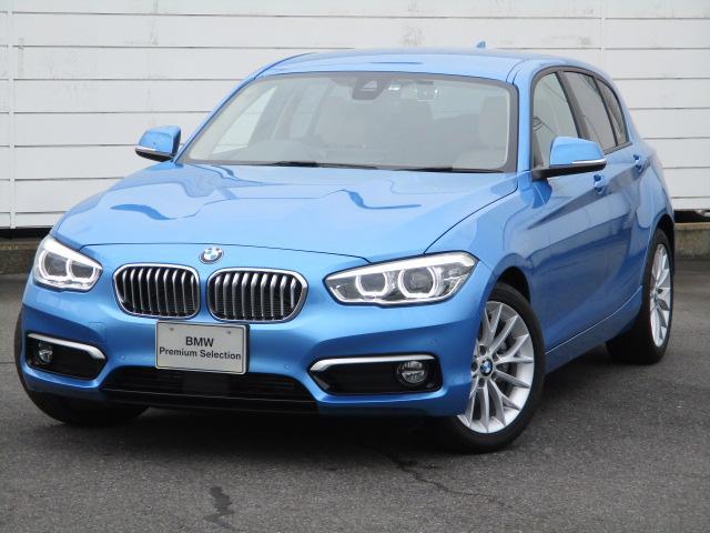 BMW 1シリーズ 118d ファッショニスタ 純正ナビ 禁煙車 ETC バックカメラ PDC レザーシート シートヒーター アクティブクルーズコントロール パワーシート HiFiスピーカー コンフォートアクセス 純正17インチアロイホイール