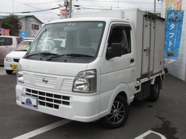 日産 NT100クリッパートラック  冷凍冷蔵車-25℃ 社外ナビ ワンセグ ETC ツインコンプレッサー