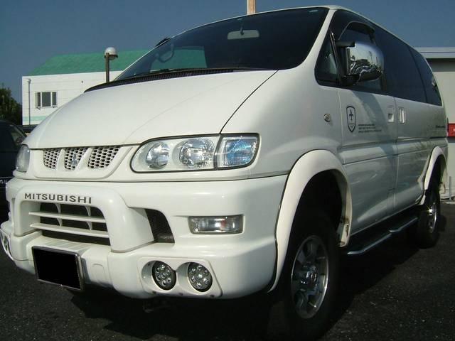 三菱 シャモニー リフトUP タイベル交換済 4WD