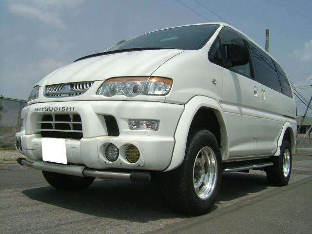 三菱 シャモニー 4WD リフトUP タイベル交換済