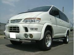 デリカスペースギアシャモニー 4WD リフトUP タイベル交換済