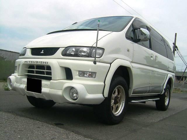 三菱 シャモニー リフトUP タイベル交換済み 4WD