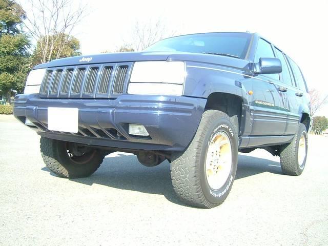 クライスラー・ジープ ジープ・グランドチェロキー リミテッド 4WD リフトUP 本革電動シート