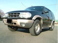 フォード エクスプローラーエディバウアー 4WD 本革シート サンルーフ