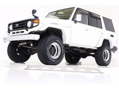 ランドクルーザー70ZX 4WD リフトUP サンルーフ付き 社外セキュリティー